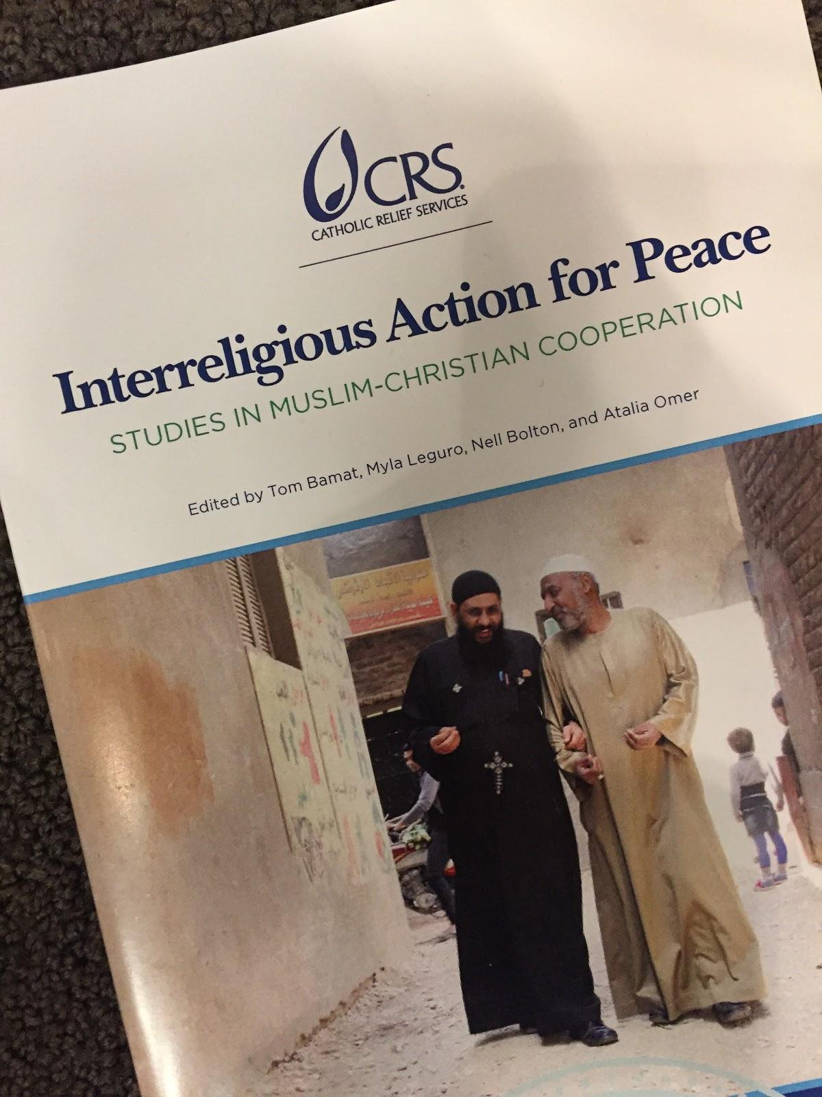 Catholic Relief Services Releases Book on Muslim-Christian Peacemaking