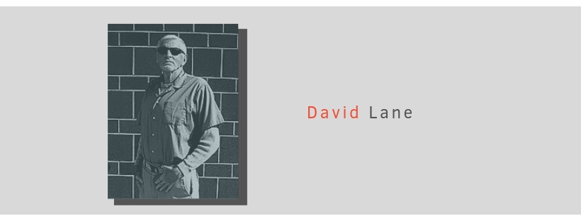 "An image of white supremacist David Lane is placed on a light grey background with the text ""David Lane Factsheet"""